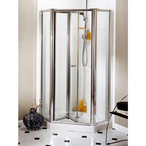 Daryl Aroco Bi Fold Pentagon Shower Enclosure Uk Bathrooms