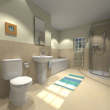 Bathrooms Uk : UK Bathrooms Arezzo Suite - UK Bathrooms