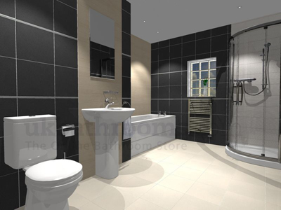 Arezzo Basin Wc Amp Shower Uk Bathrooms
