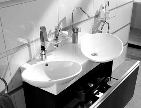 Vitra Designer Espace Double Vanity Basin Uk Bathrooms