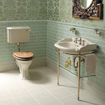 Imperial Antique Crackle Ceramic Dado Tiles UK Bathrooms