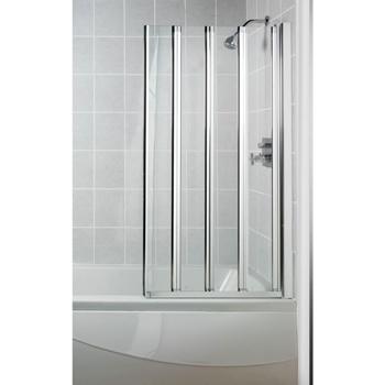 Manhattan Swiftseal 4 Panel Folding Bath Screen Uk Bathrooms