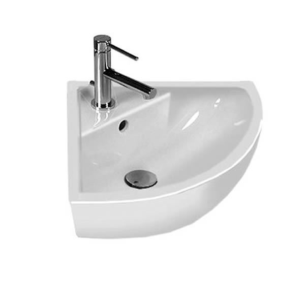 Corner Basin : Omnia Architectura Compact Corner Basin - UK Bathrooms