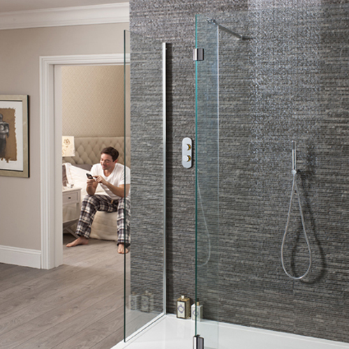 Latest bathroom technology innovation crosswater digital Shower innovations