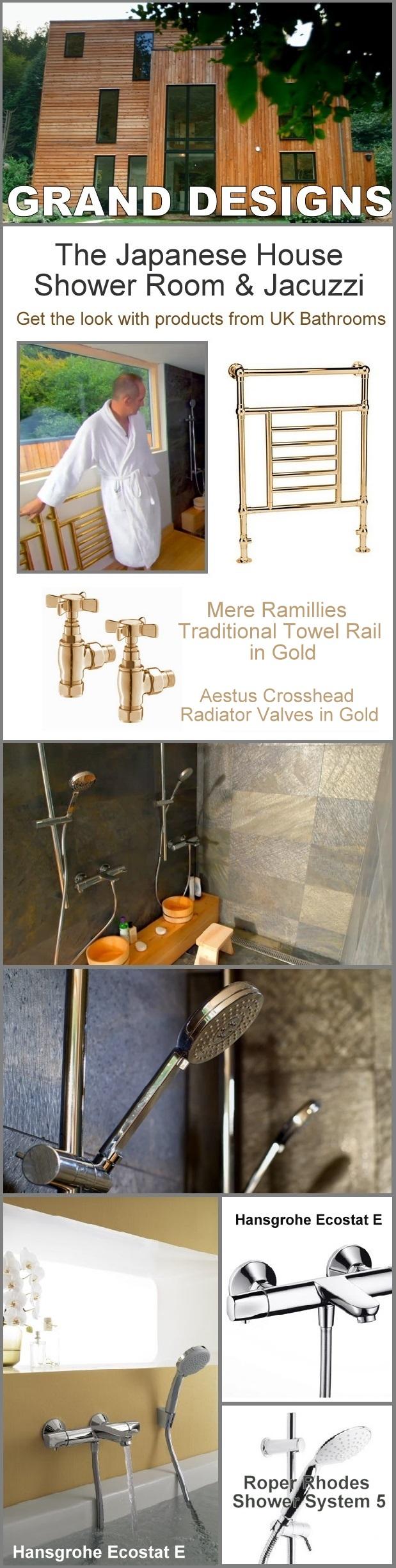 Grand Designs Japanese Shower Room