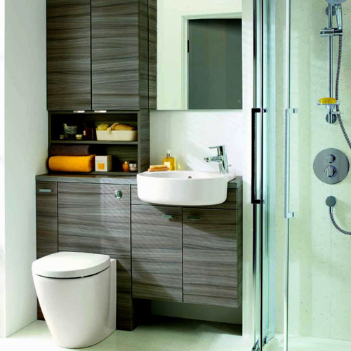 Designing a small modern en suite uk bathrooms for Modern small ensuite