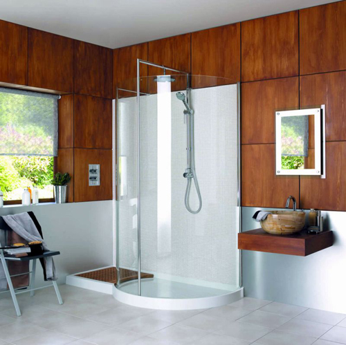 Matki Curved Double Shower enclosure