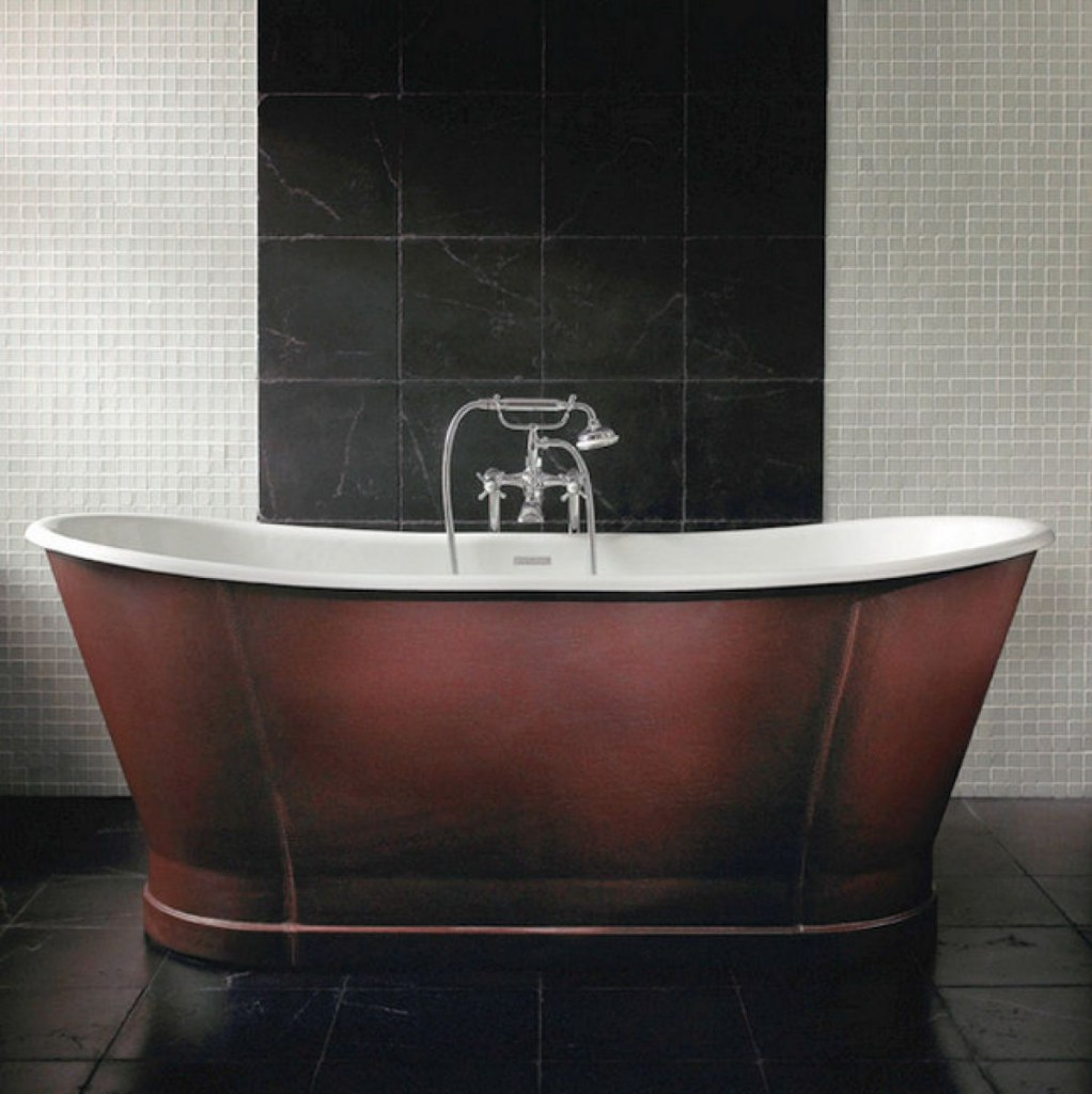 leather bath