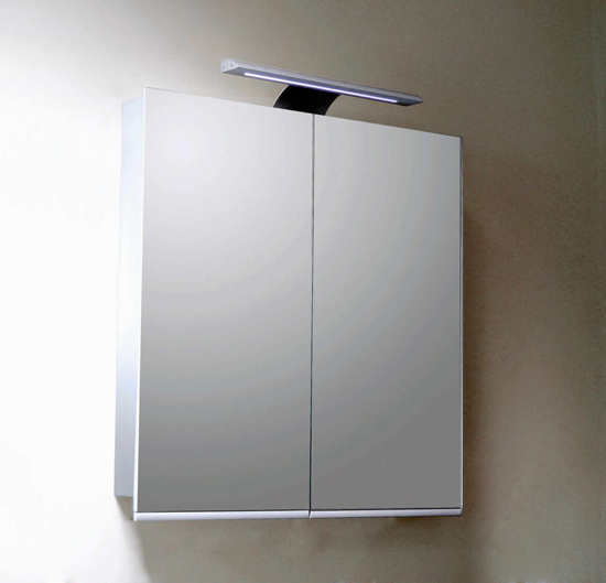Noble Primo Aluminium Illuminated Mirror Cabinet
