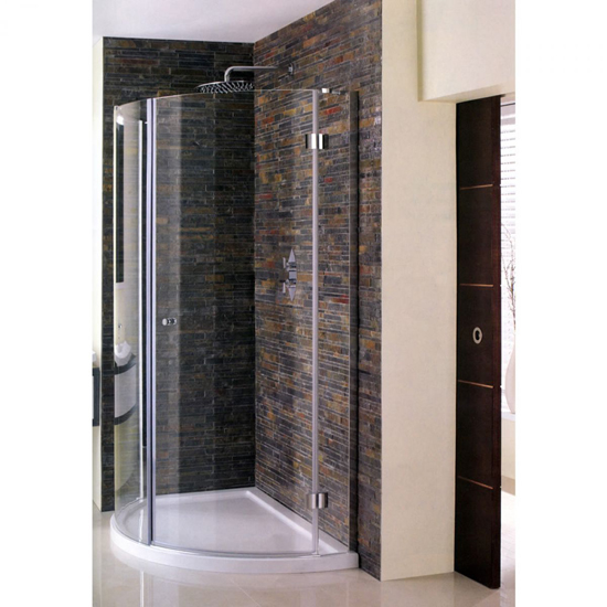 Simpsons Design View Inward Opening Quadrant Shower