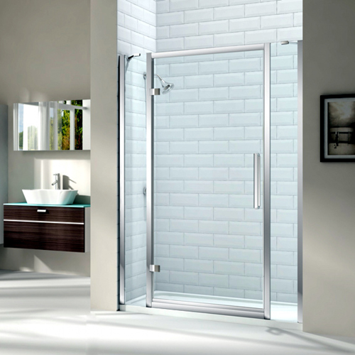 Merlyn Series 8 Hinged Shower Door And Double Inline Panel