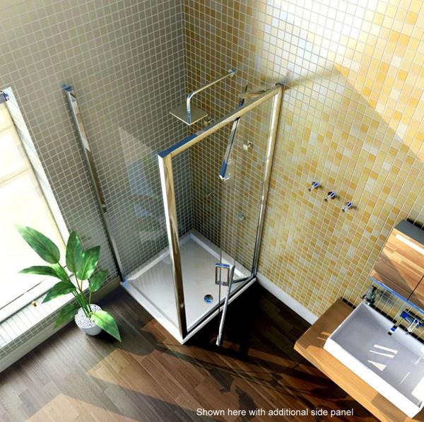 Merlyn Series 8 Infold Shower Door