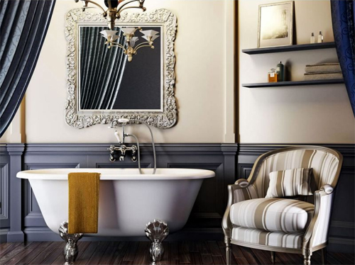 Clearwater Traditional Brass Bath