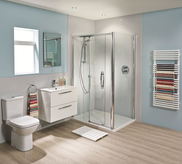Install Shower Wall Panels instead of Tiles - UK Bathrooms