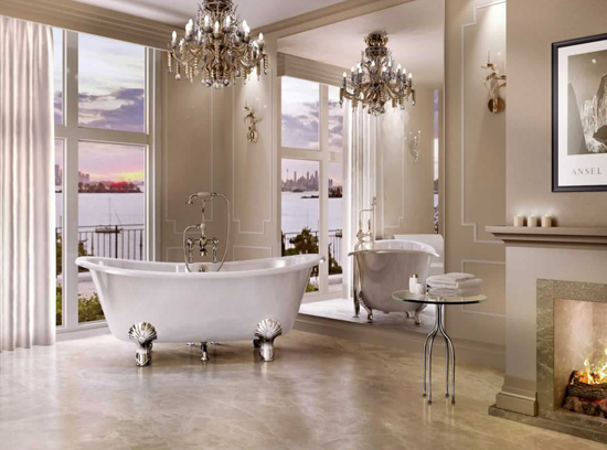 Clearwater Battello Natural Stone Traditional Bath