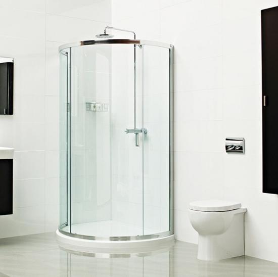 Roman Lumin8 Bow Fronted Quadrant Shower Enclosure