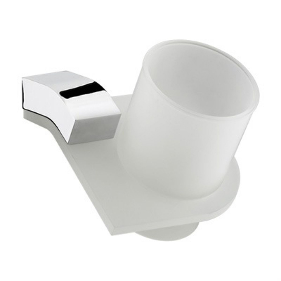 Bristan Twist Wall Mounted Tumbler and Holder
