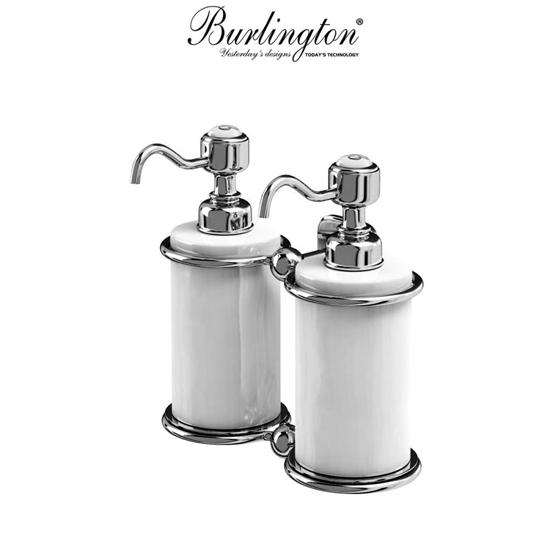 Burlington Traditional Double Liquid Soap Dispenser