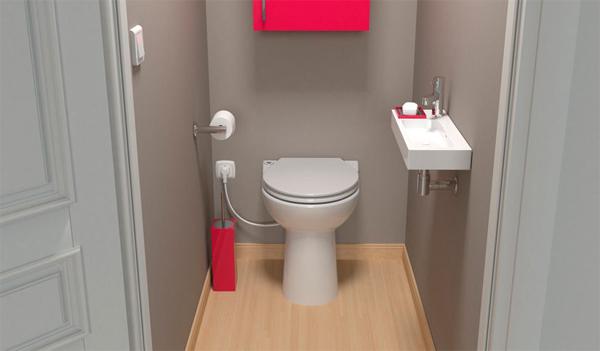 Saniflo compact WC & Macerator