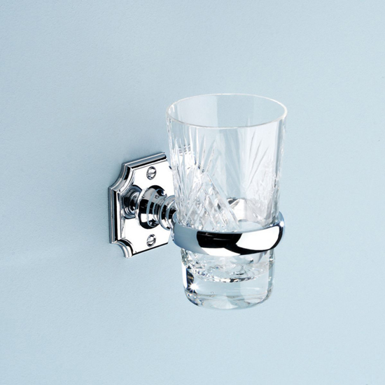 Silverdale Traditional Tumbler holder and Glass Tumbler