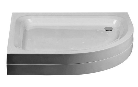 Just Trays Merlin Offset Quadrant Shower Tray