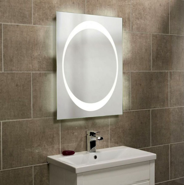 Roper Rhodes Clarity Equator backlit mirror