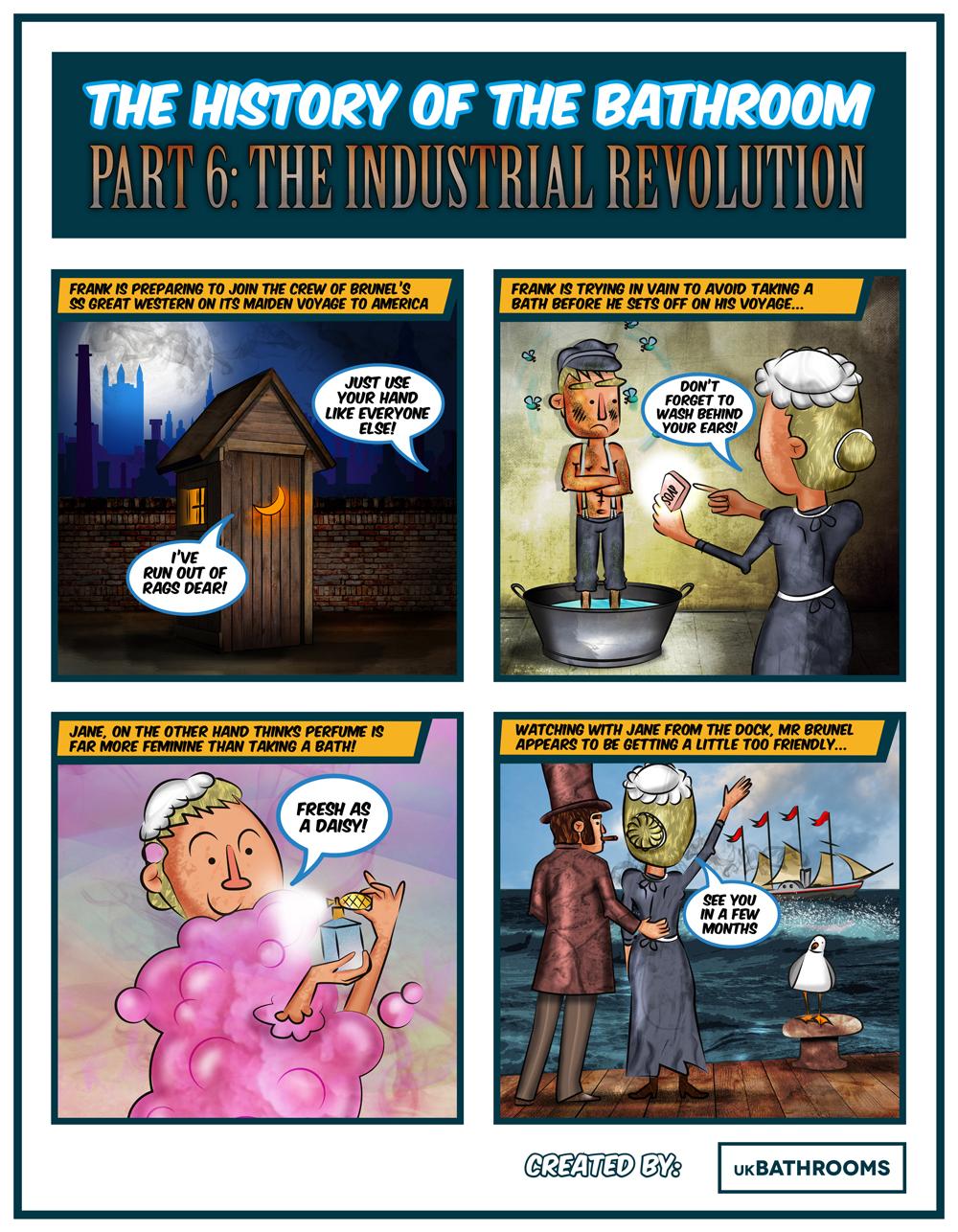industrial revolution comic sheet