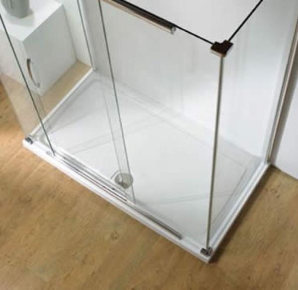 Kudos Rectangular Concept 2 Shower Tray & Waste