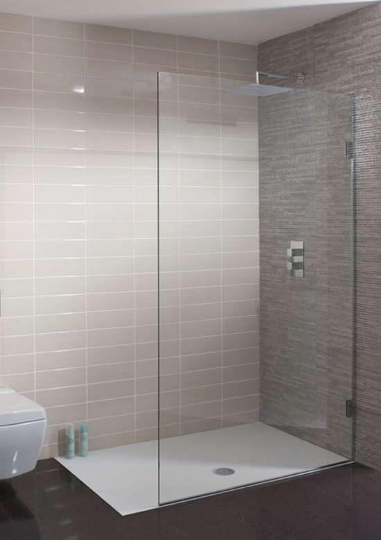 Simpsons 10mm Single Fixed Shower Panel