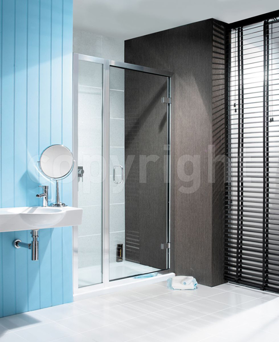 Simpsons Classic Hinged Shower Door & Inline Shower Panel