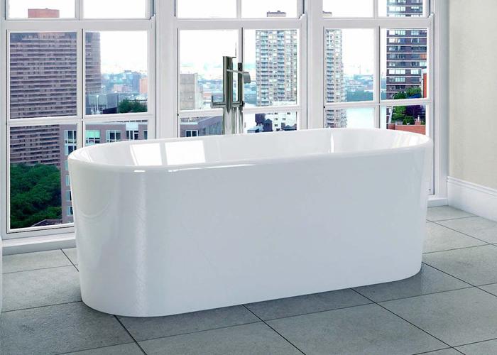 April Brearton Modern Freestanding Bath
