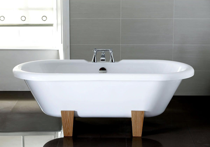 April Skipton Double Ended Victorian Style Bath