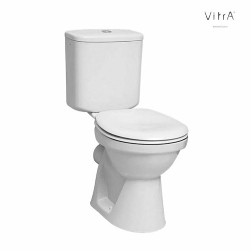 Vitra Milton Close Coupled Toilet Suite