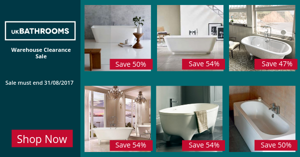 Our Biggest Freestanding Baths Clearance Sale UK Bathrooms - Uk bathrooms