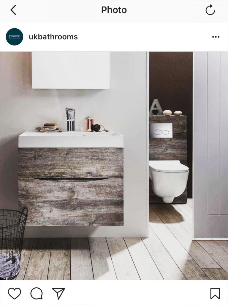 A natural influence Bathroom