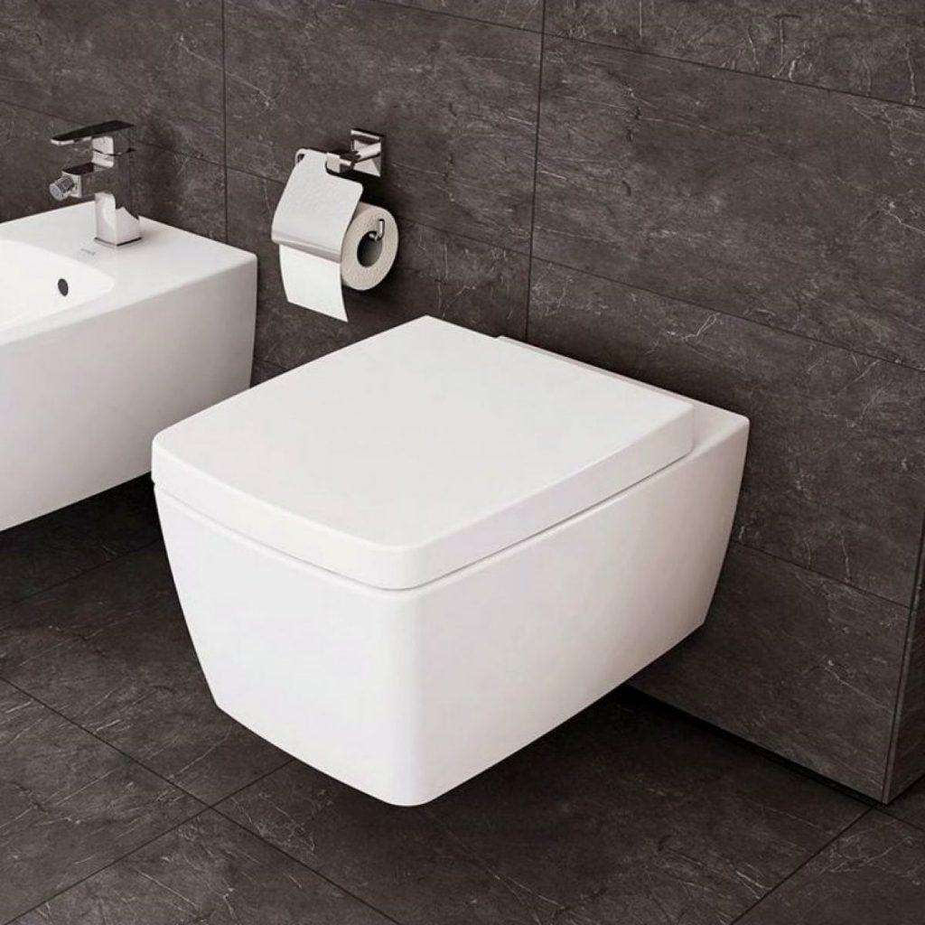 Vitra M-Line Rimless Wall Hung Toilet