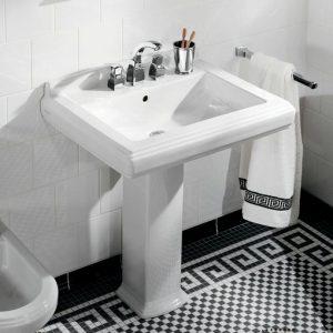 VB washbasin mosaic tiles